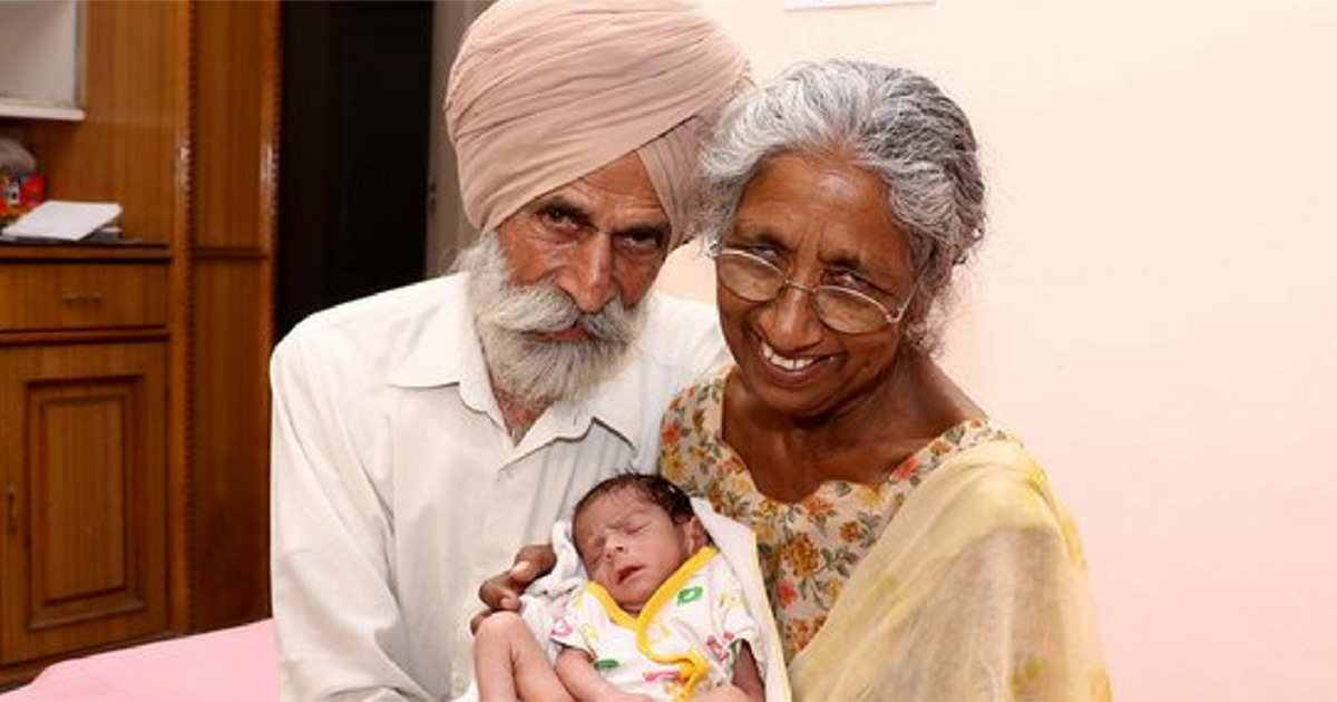 72 year old daljinder gets pregnant for first time watch how the family is living 11 months later. Black Bedroom Furniture Sets. Home Design Ideas