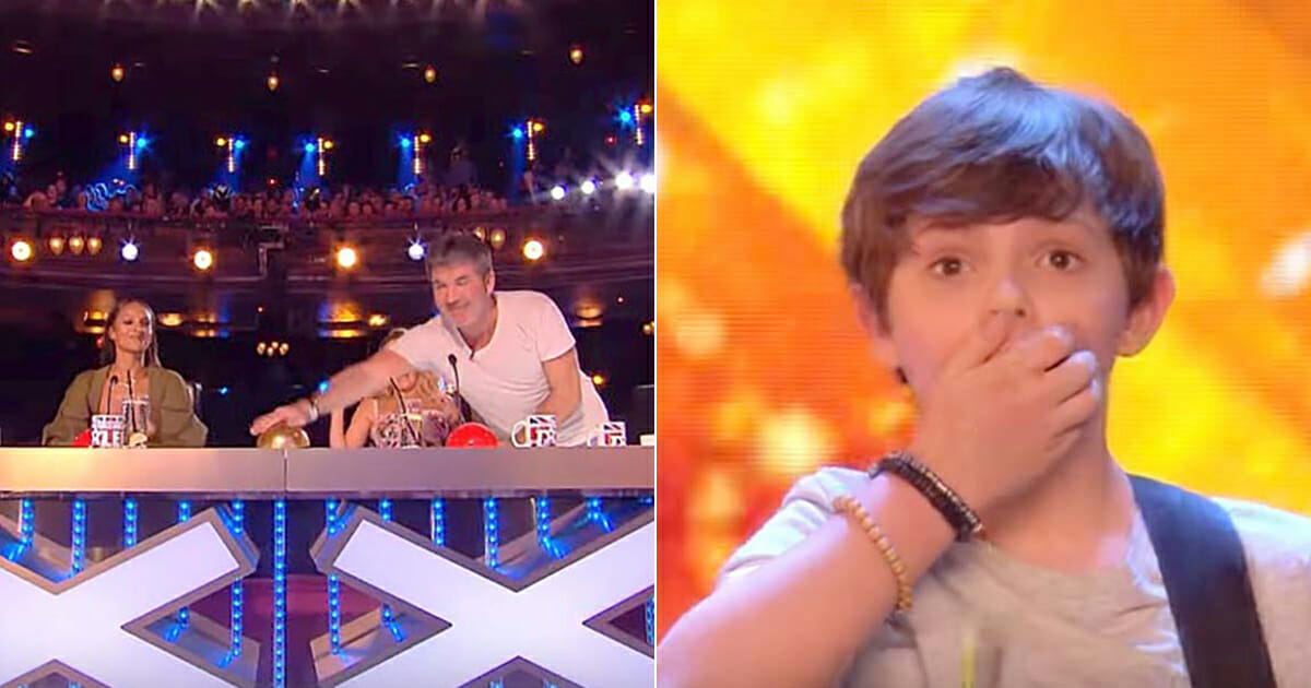Tim Jack Goodacre The Lucky Ones Britain's Got Talent Simon Cowell