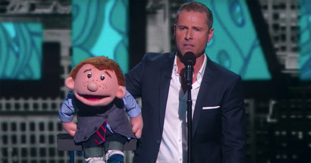 paul zerdin, buktalare, america's got talent