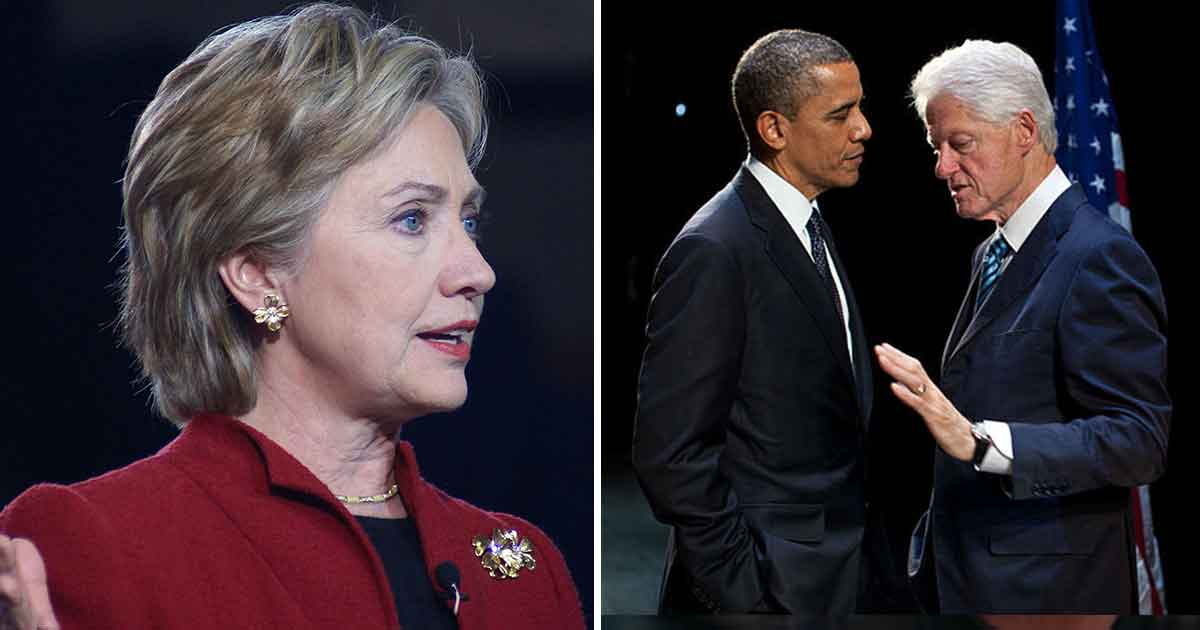 Hillary Clinton, Barack Obama, Bill Clinton
