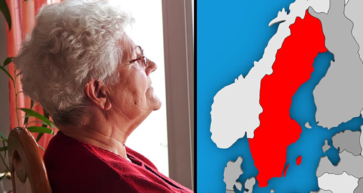 Pensionär, fattigpensionär, Sverige
