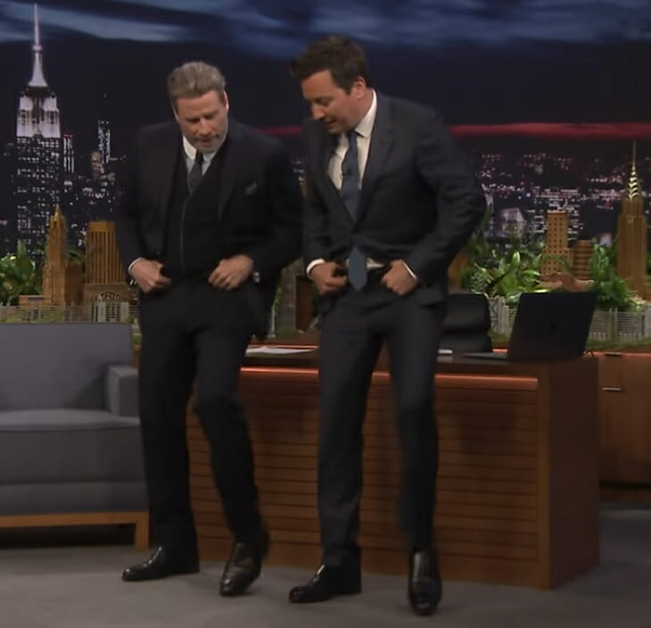 Jimmy Fallon, John Travolta