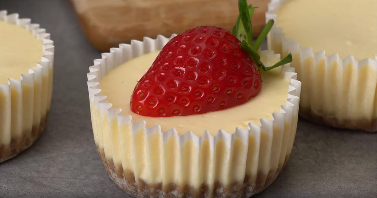 mini-cheesecake, recept