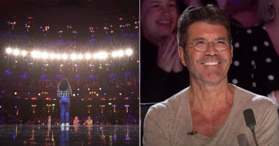 fayth ifil, britain's got talent, simon cowell