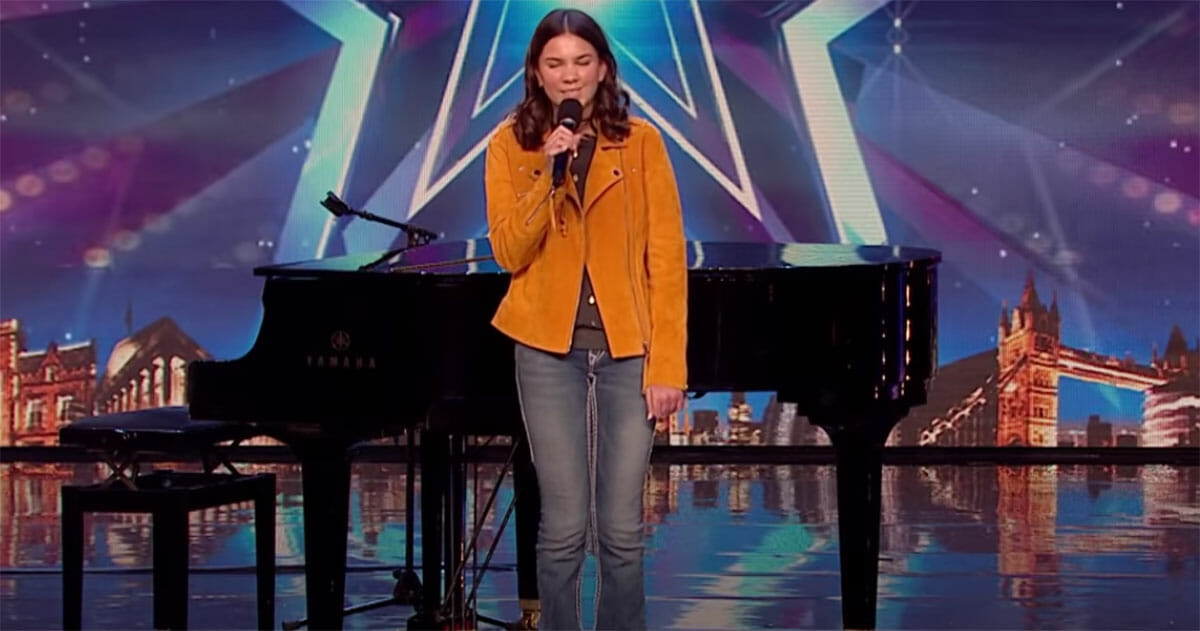 Sirine Jahangir, britain's got talent