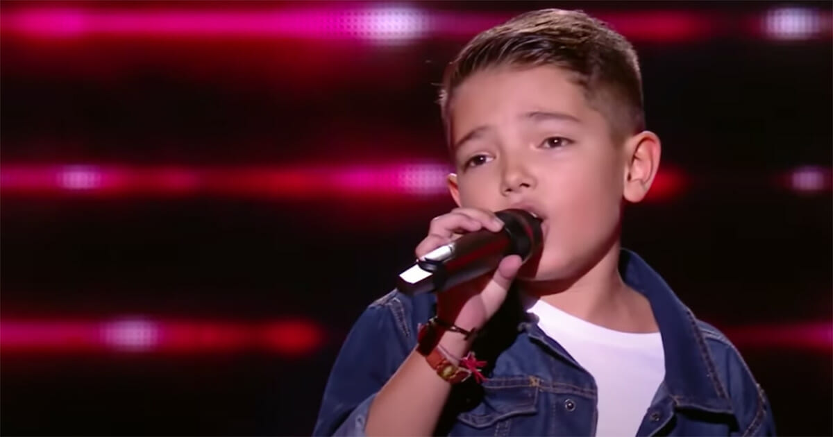 lissandro, the voice kids france