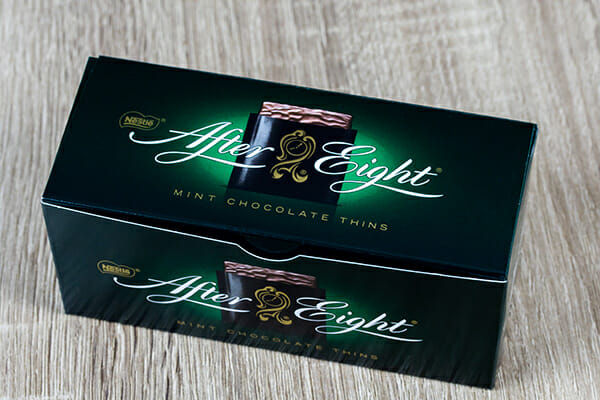 after eight, choklad